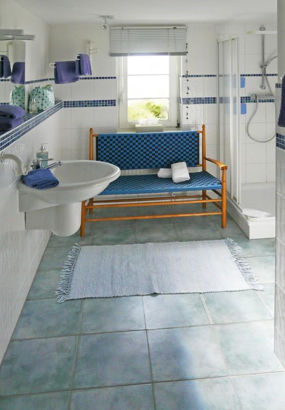 Badezimmer der großen Ferienwohnung