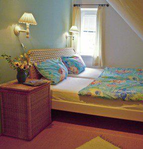 Ferienwohnung Wieck Schlafzimmer