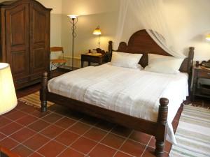Ferienwohnung Schlafzimmer Bett