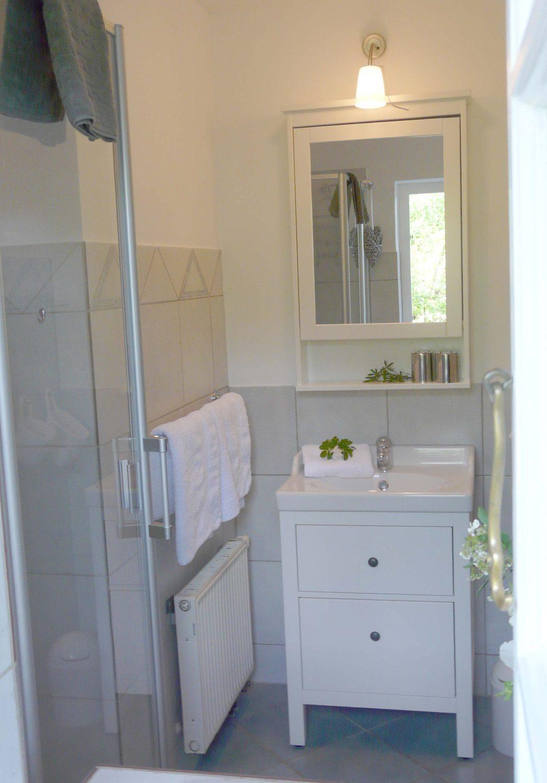 Ferienwohnung Bad mit Dusche