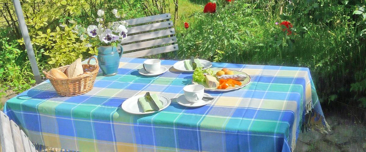 Terrasse Gartenwohnung